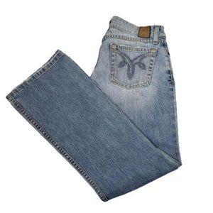 BKE denim boot cut jeans style Star 18 light wash size 26
